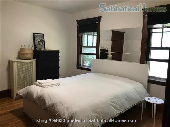 JULY 1 / AMAZING 3BR Harvard / Porter:  fully furnished, ALL utilities + internet  + deck + laundry, pets ok Home Rental in Cambridge, Massachusetts, United States 9