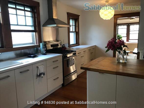 JULY 1 / AMAZING 3BR Harvard / Porter:  fully furnished, ALL utilities + internet  + deck + laundry, pets ok Home Rental in Cambridge, Massachusetts, United States 1