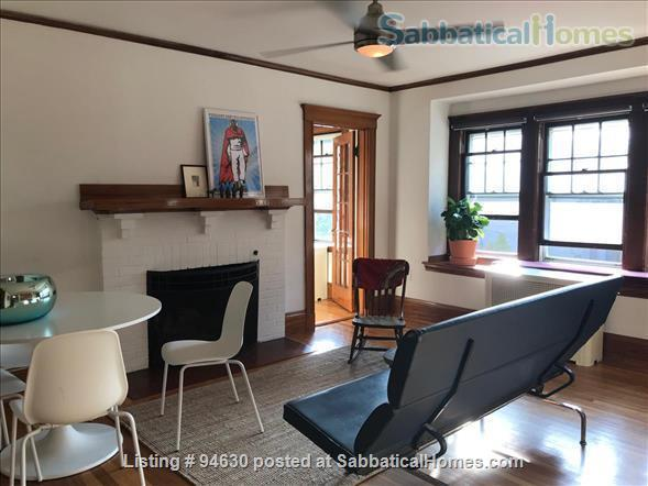 JULY 1 / AMAZING 3BR Harvard / Porter:  fully furnished, ALL utilities + internet  + deck + laundry, pets ok Home Rental in Cambridge, Massachusetts, United States 2