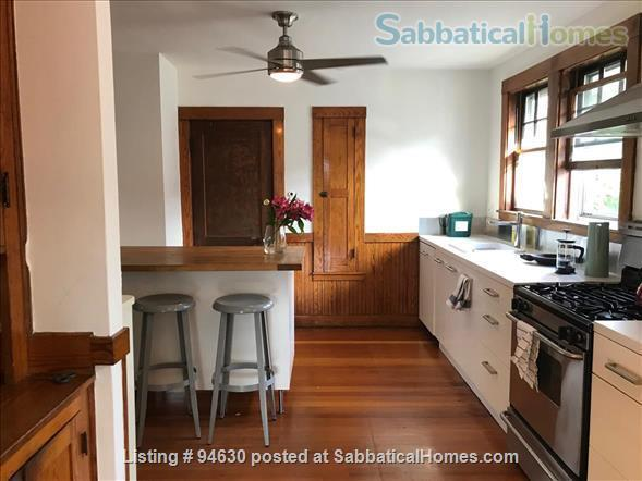 JULY 1 / AMAZING 3BR Harvard / Porter:  fully furnished, ALL utilities + internet  + deck + laundry, pets ok Home Rental in Cambridge, Massachusetts, United States 3
