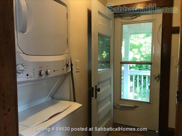 JULY 1 / AMAZING 3BR Harvard / Porter:  fully furnished, ALL utilities + internet  + deck + laundry, pets ok Home Rental in Cambridge, Massachusetts, United States 4