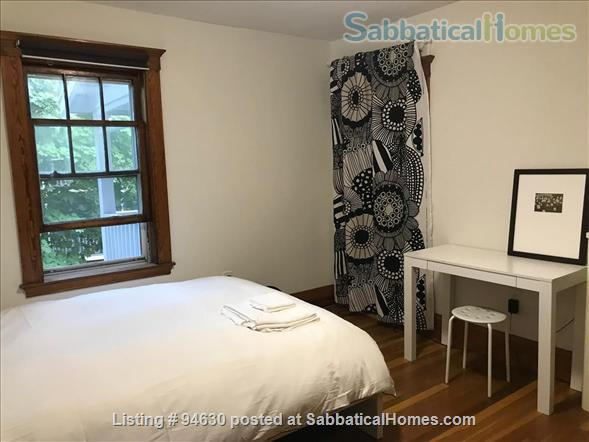 JULY 1 / AMAZING 3BR Harvard / Porter:  fully furnished, ALL utilities + internet  + deck + laundry, pets ok Home Rental in Cambridge, Massachusetts, United States 8