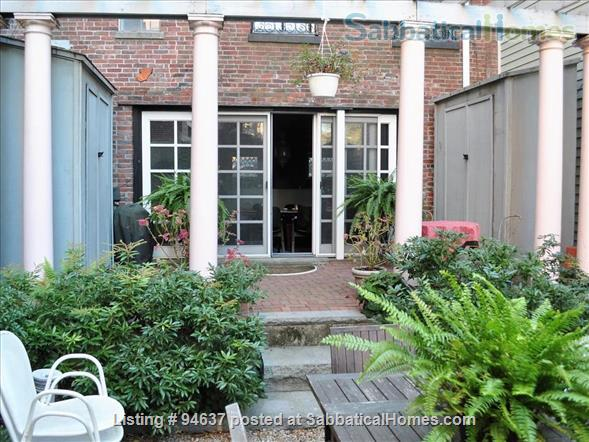 Handsome house with charming garden for summer rent Home Rental in Boston, Massachusetts, United States 0