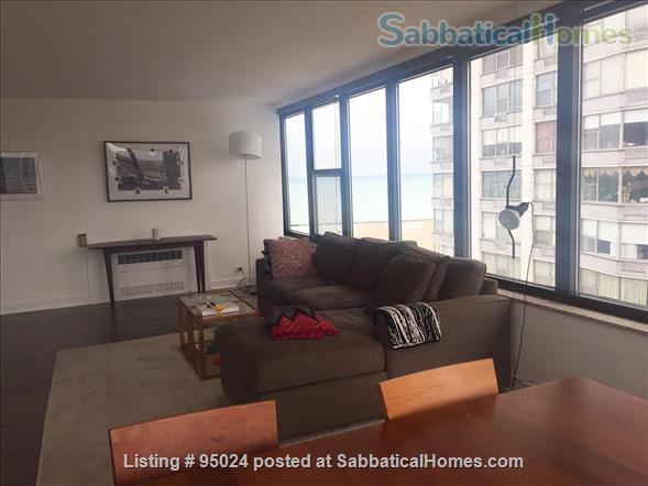 Sunny and quiet condo on the beach in Edgewater, Chicago Home Rental in Chicago, Illinois, United States 3