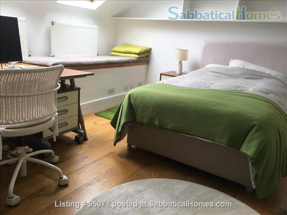 Beautiful room near Archway/Highgate in comfy quiet and SAFE home w. views over London Home Rental in Greater London, England, United Kingdom 1