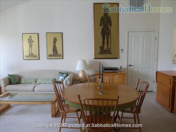 Nicely furnished 2+ bedroom luxury home in a quiet, upscale residential community -- includes linen service,  etc., 8 minutes bus to Cornell, everything included Home Rental in Ithaca, New York, United States 0