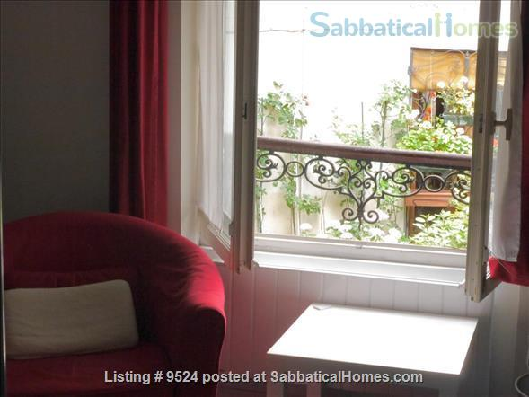 Studio+  in a small private house on  Montmartre hill  Home Rental in Paris, Île-de-France, France 1