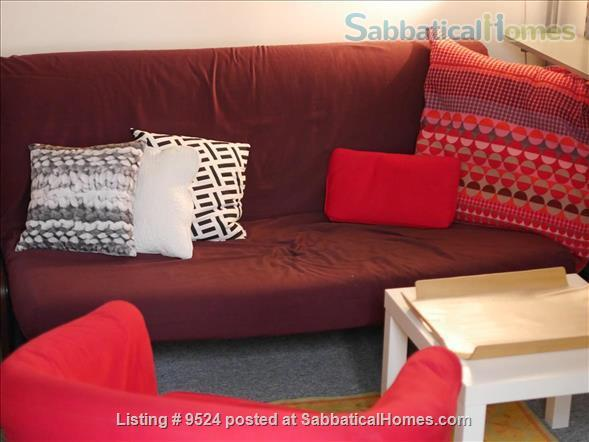 Studio+  in a small private house on  Montmartre hill  Home Rental in Paris, Île-de-France, France 3