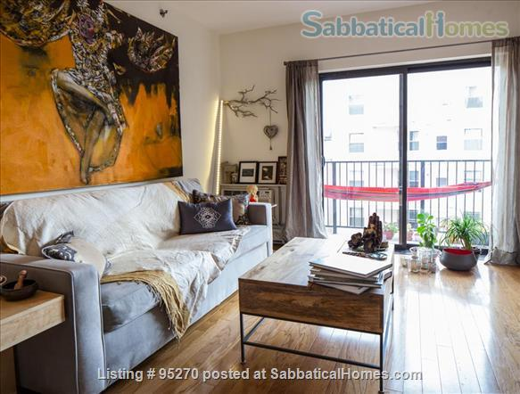 Modern, Sunny, 1 bedroom apartment  w/Balcony Home Rental in New York, New York, United States 1