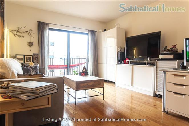 Modern, Sunny, 1 bedroom apartment  w/Balcony Home Rental in New York, New York, United States 0