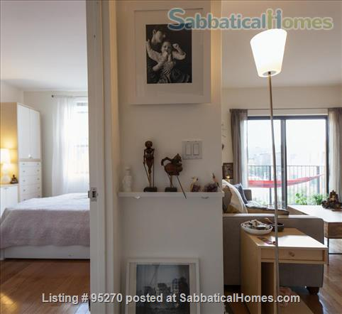 Modern, Sunny, 1 bedroom apartment  w/Balcony Home Rental in New York, New York, United States 2