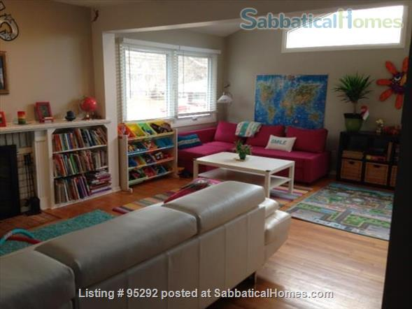 Beautiful Family House on the West Side 10-12 months (Aug 2021 - Aug 2022) Home Rental in Ann Arbor, Michigan, United States 2