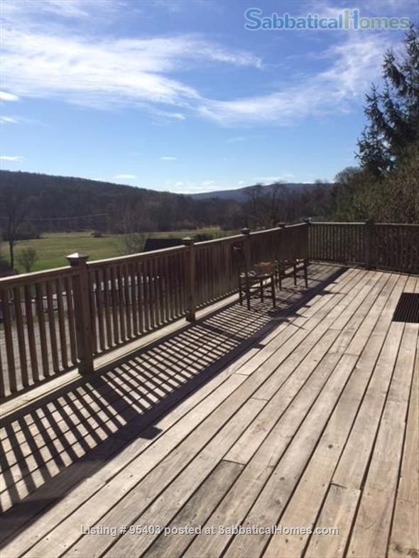 Beautiful semi-rural small town Vermont: 3 bdrm 2 bath, pool Home Rental in Putney, Vermont, United States 4