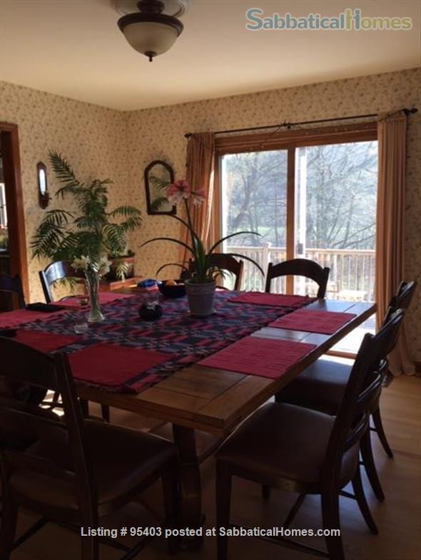 Beautiful semi-rural small town Vermont: 3 bdrm 2 bath, pool Home Rental in Putney, Vermont, United States 6