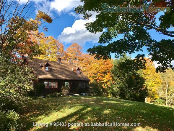 Beautiful semi-rural small town Vermont: 3 bdrm 2 bath, pool Home Rental in Putney, Vermont, United States 1