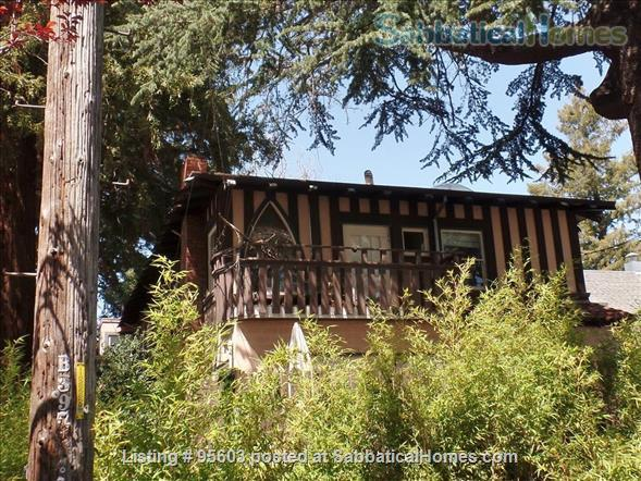3 BR 2 BA Tudor Townhome on Tree-Lined Northside Street 6 min to Campus Home Rental in Berkeley, California, United States 1