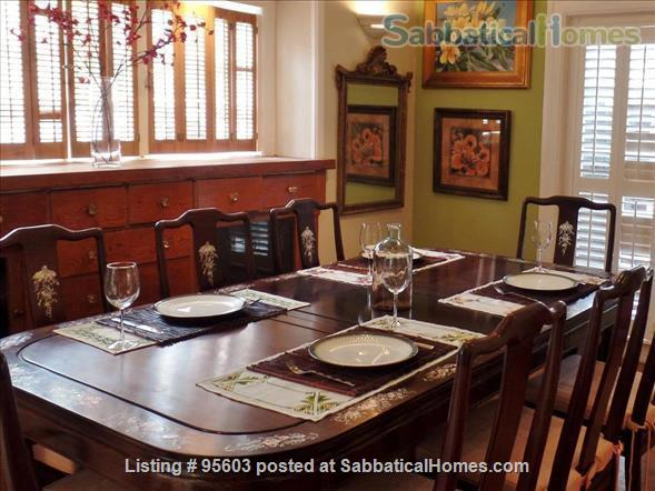 3 BR 2 BA Tudor Townhome on Tree-Lined Northside Street 6 min to Campus Home Rental in Berkeley, California, United States 2