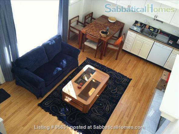 Light-filled furnished condo near Berkeley's 4th Street - great for couple or young family Home Rental in Berkeley, California, United States 1