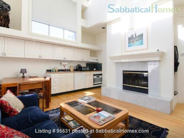 Light-filled furnished condo near Berkeley's 4th Street - great for couple or young family Home Rental in Berkeley, California, United States 0