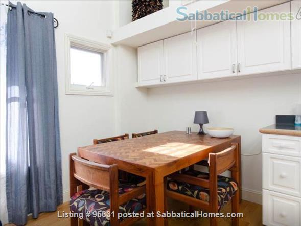 Light-filled furnished condo near Berkeley's 4th Street - great for couple or young family Home Rental in Berkeley, California, United States 4