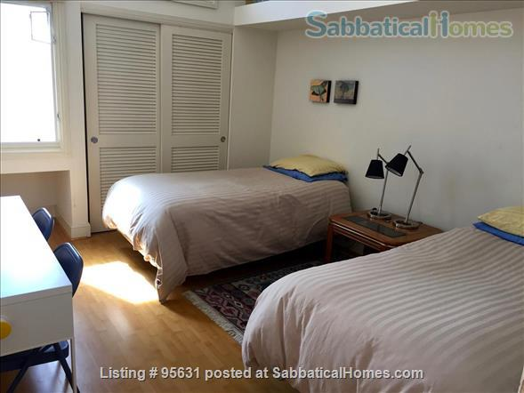 Light-filled furnished condo near Berkeley's 4th Street - great for couple or young family Home Rental in Berkeley, California, United States 5