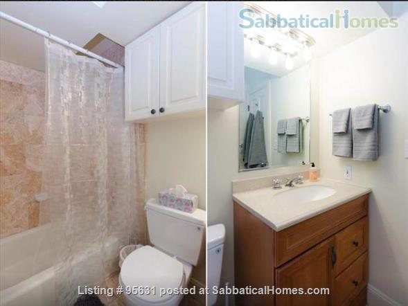 Light-filled furnished condo near Berkeley's 4th Street - great for couple or young family Home Rental in Berkeley, California, United States 6