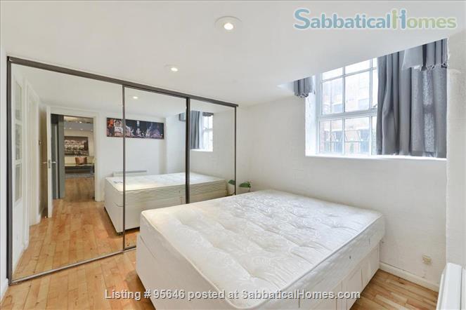 Sleek converted loft apartment in East London -- belongs to US-based academic family Home Rental in London, England, United Kingdom 6