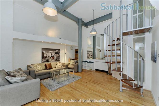Sleek converted loft apartment in East London -- belongs to US-based academic family Home Rental in London, England, United Kingdom 7