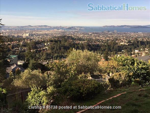 Private Montclair Home(Oakland Hills), Panoramic Views of San Francisco, Golden Gate and the Bay Bridge Home Rental in Oakland, California, United States 1