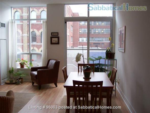 Spacious, airy Condo in Downtown Toronto Home Rental in Toronto 1