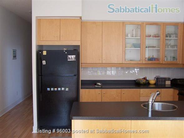 Spacious, airy Condo in Downtown Toronto Home Rental in Toronto 2