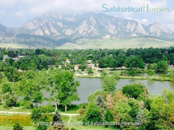 Townhouse on open space in S. Boulder -- 3 BR, 2.5 baths, garage, campus setting  Home Rental in Boulder, Colorado, United States 9
