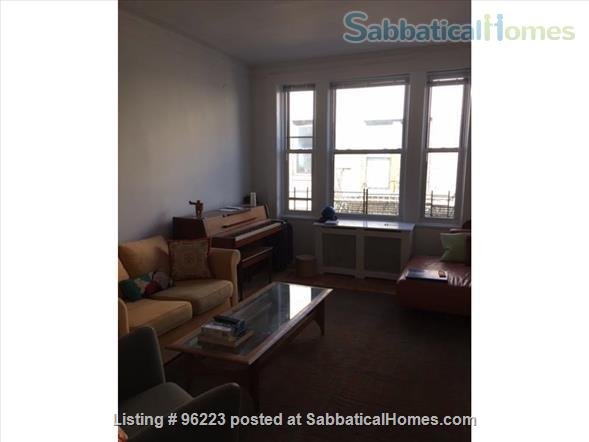 Sunny 2BR summer/academic year sublet, Columbia/Morningside Home Rental in New York, New York, United States 0