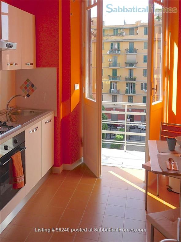 Colors of Testaccio, well-lit and terraced apartment in Rome Home Rental in Rome 0