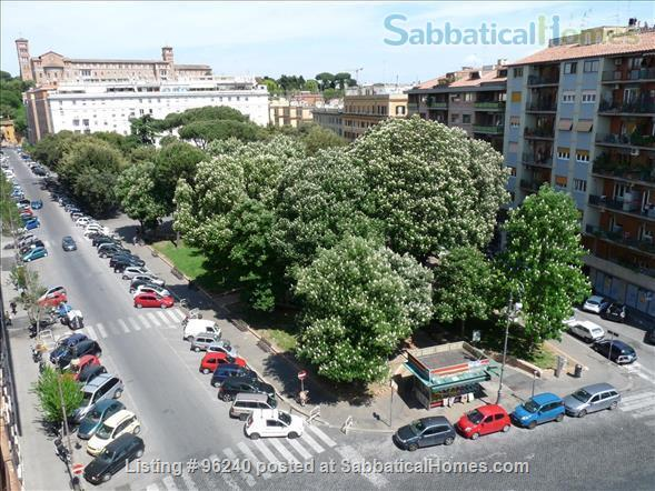 Colors of Testaccio, well-lit and terraced apartment in Rome Home Rental in Rome 2 - thumbnail