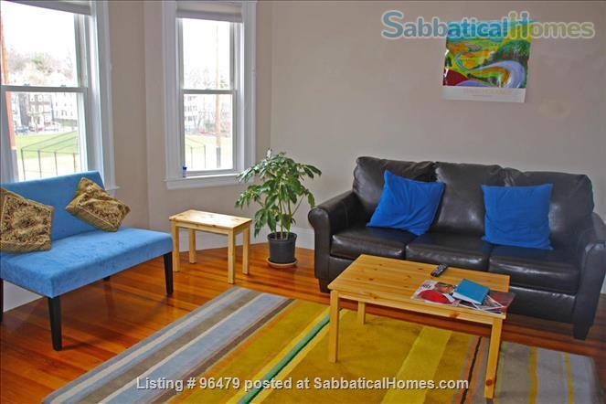 JAMAICA PLAIN - 2BDR essential utilities incl, de-leaded/Child-friendly, fully furnished Home Rental in Boston, Massachusetts, United States 5