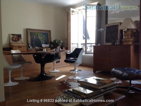Beautiful 55 m2 apartment in the 6th,  luminous, quiet. Home Rental in Paris, Île-de-France, France 1