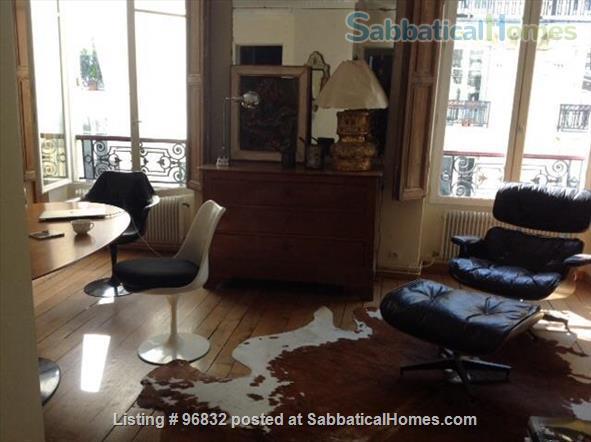 Beautiful 55 m2 apartment in the 6th,  luminous, quiet. Home Rental in Paris, Île-de-France, France 0