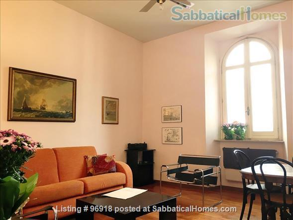 ***** Strategically located, bright, and comfortable apartment in the Center of Rome ***** Home Rental in Roma, Lazio, Italy 1