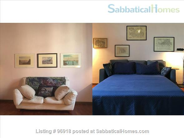 ***** Strategically located, bright, and comfortable apartment in the Center of Rome ***** Home Rental in Roma, Lazio, Italy 3