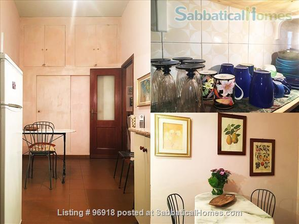 ***** Strategically located, bright, and comfortable apartment in the Center of Rome ***** Home Rental in Roma, Lazio, Italy 7