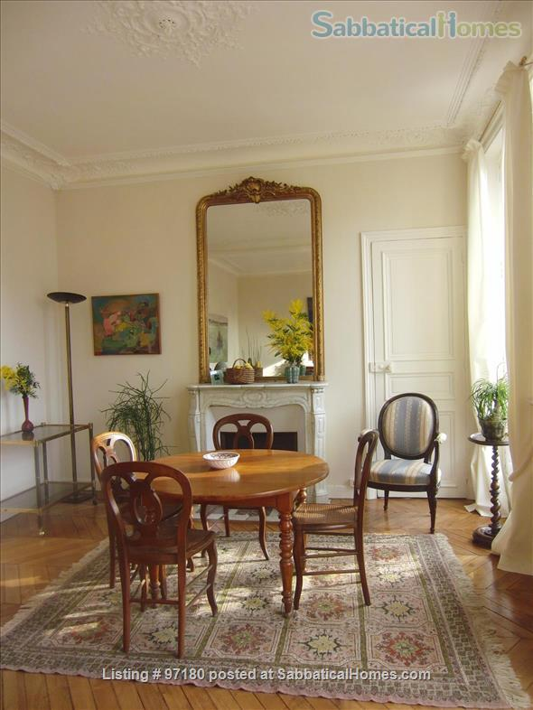 Spend a wonderful summer and fall in this Parisian delight! Home Rental in Paris, Île-de-France, France 1