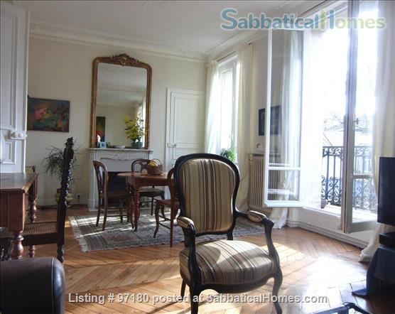 Spend a wonderful summer and fall in this Parisian delight! Home Rental in Paris, Île-de-France, France 3
