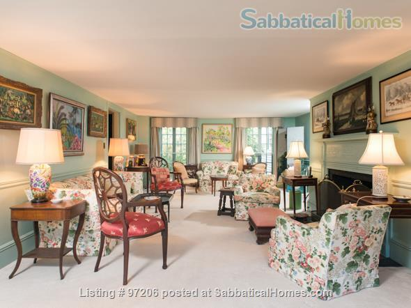 Park-like setting,  Home Office, 4BR/5BA,  nr train and rte 128 to Tufts, BU, MIT or Harvard.  Min. to Gordon, Endicott, Landmark Home Rental in Manchester-by-the-Sea, Massachusetts, United States 6