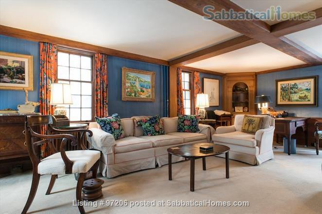 Park-like setting,  Home Office, 4BR/5BA,  nr train and rte 128 to Tufts, BU, MIT or Harvard.  Min. to Gordon, Endicott, Landmark Home Rental in Manchester-by-the-Sea, Massachusetts, United States 7
