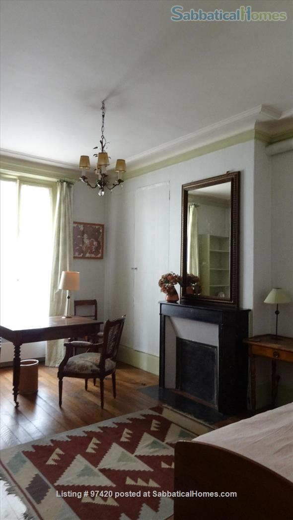 Nice bedroom in a typically Parisian apartment  Home Rental in Paris, IDF, France 1