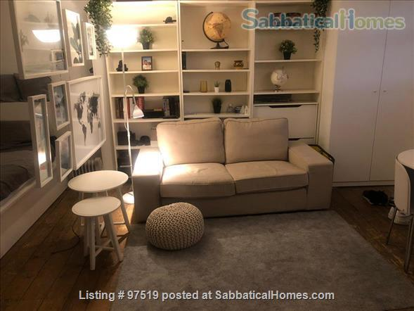Studio Flat Queensway/Bayswater London Home Rental in London 1 - thumbnail