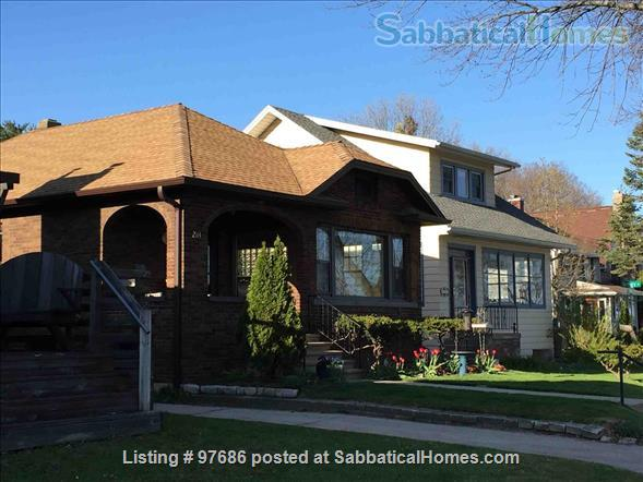 Beautiful brick home with gorgeous view of the lake Home Rental in Madison, Wisconsin, United States 1