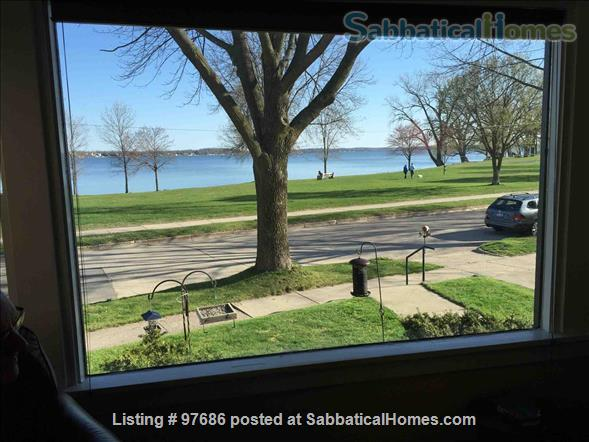 Beautiful brick home with gorgeous view of the lake Home Rental in Madison, Wisconsin, United States 0