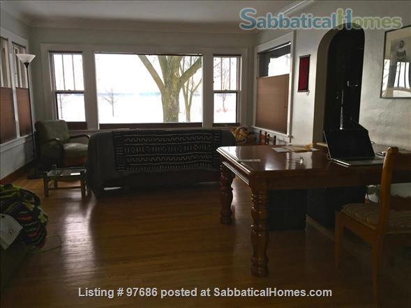 Beautiful brick home with gorgeous view of the lake Home Rental in Madison, Wisconsin, United States 3